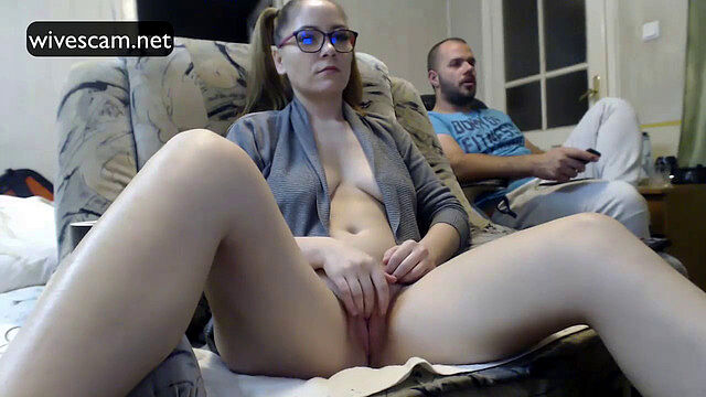 I caught my wife's sister masturbating and came all over her twice
